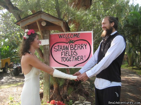 get married in Paradise (#8 of 26) - Back to Eden Strawberry Fields Together Jamaica