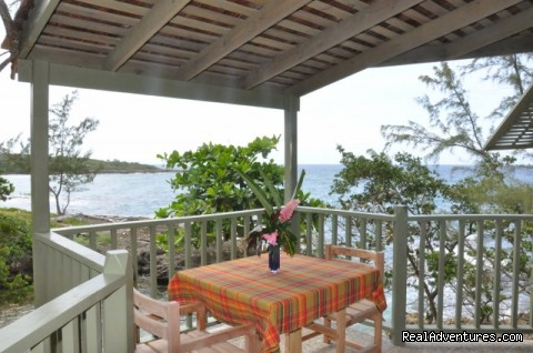 Dinner For 2 On Your Own Veranda Overlooking The Sea - Back to Eden Strawberry Fields Together Jamaica