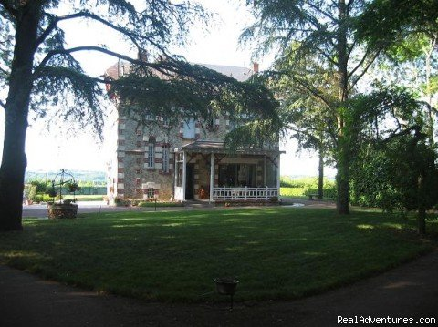 the house from the park | Image #2/13 | bed  breakfast & rental Tours Amboise loire valley