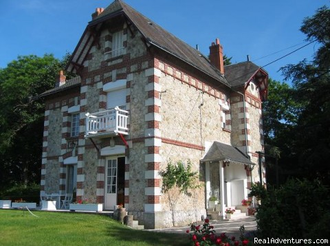 the main house - bed  breakfast & rental Tours Amboise loire valley