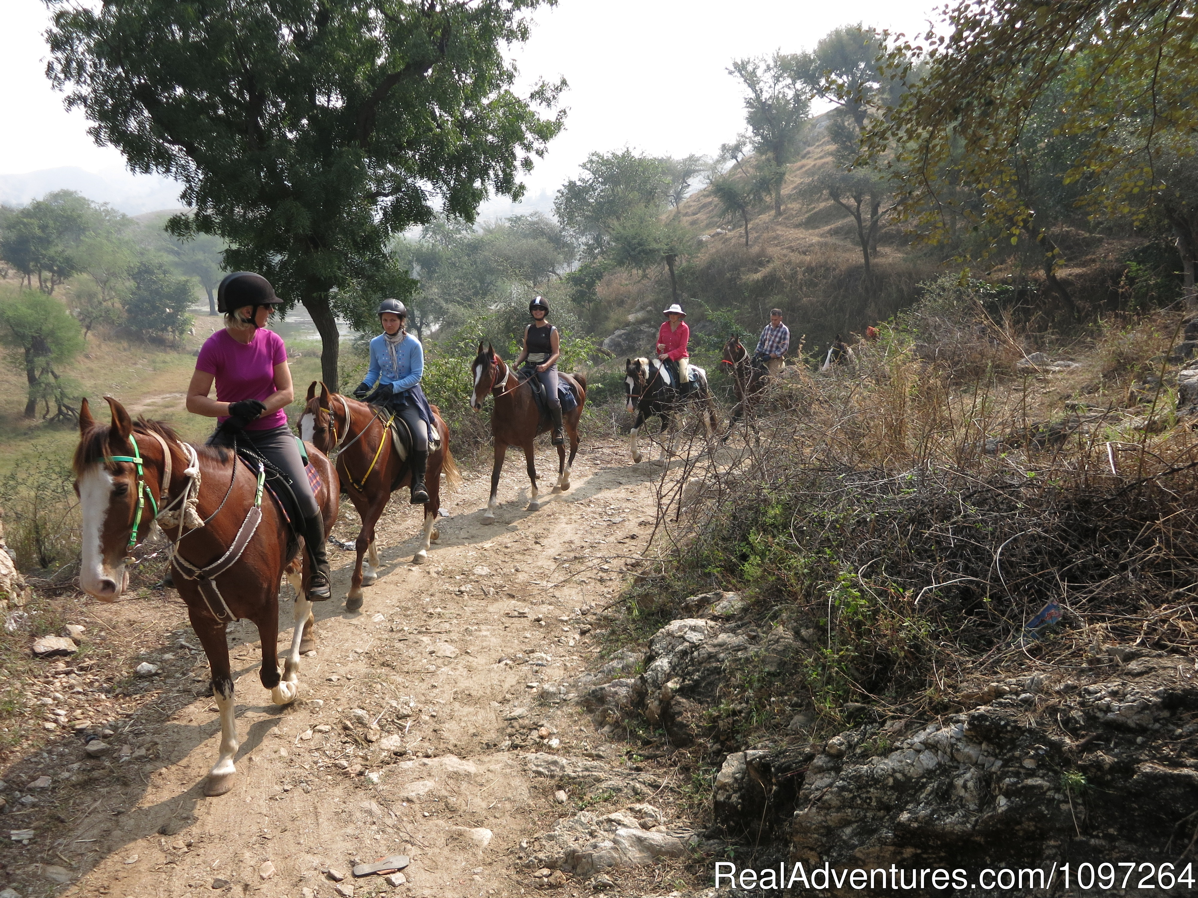 Ride through the Aravalli Mountains