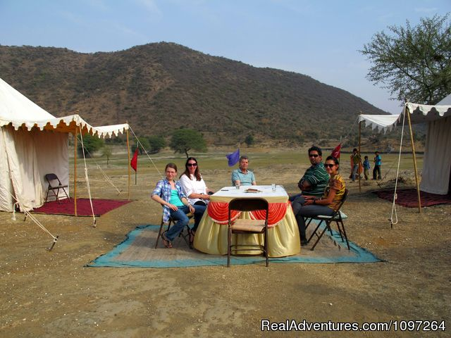 Our Safari Camp - Horsebacksafaris on Marwari Horses in Rajasthan