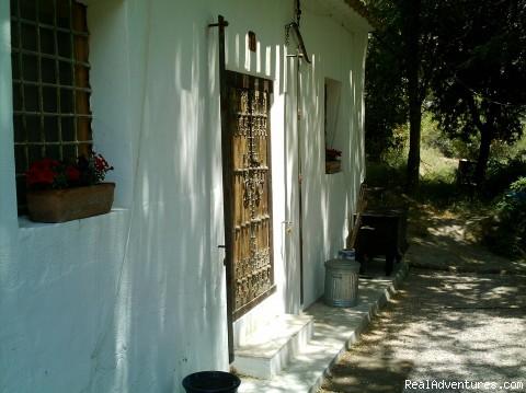 Rural villa La huerta sierra Espuna Spain Front View