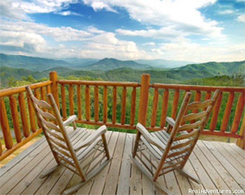 Pigeon Forge Cabin Rentals with Majestic Views Majestic Pigeon Forge Cabin View