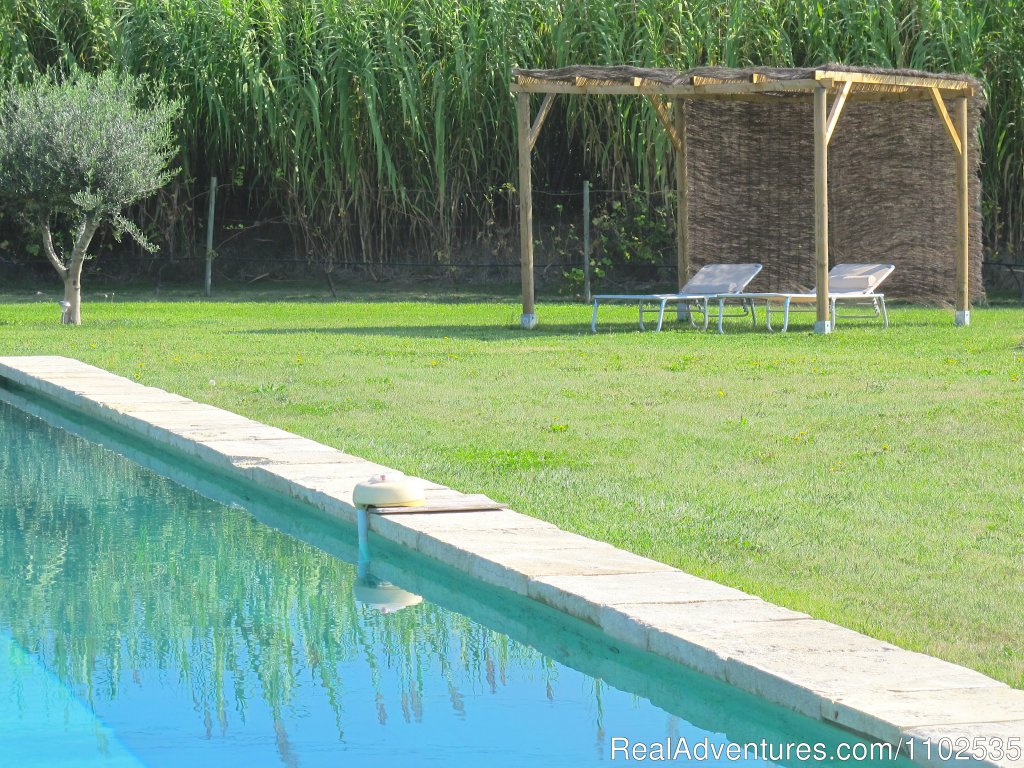 Ambiance around overflowing swimming pool | Image #17/22 | Charming Holidays Rental & Guest House