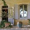 Ambiance at the entrance La Garance en Provence