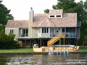 Spinnaker Chincoteague Waterfront Vacation House - Vacation Rentals Chincoteague Island, Virginia