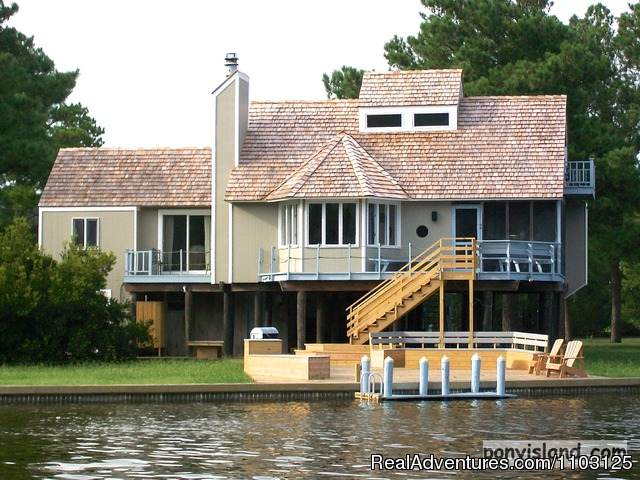 Spinnaker Chincoteague Waterfront Vacation House - Chincoteague Island, Virginia Vacation Rentals