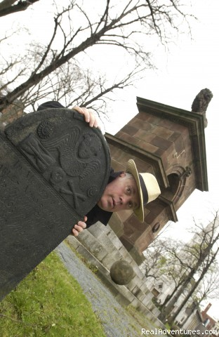Ghost Walk of Historic Halifax: Tour guide Andy Smith