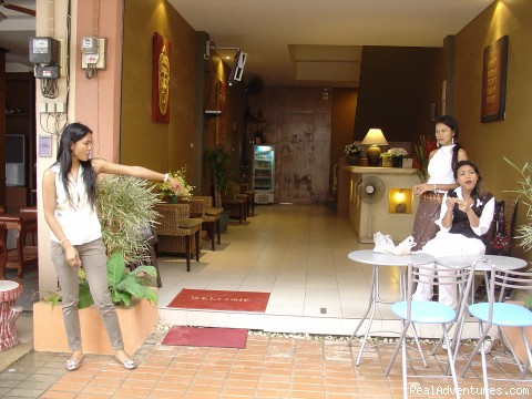 Front Entrance - Little Buddha Phuket
