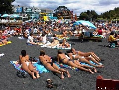 Rukka Propiedades Costa de Montemar: Beach