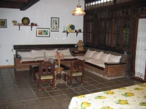 Living Room - Holiday House to Rent in Buzios - Brazil