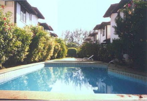 Condominium Pool - Holiday House to Rent in Buzios - Brazil