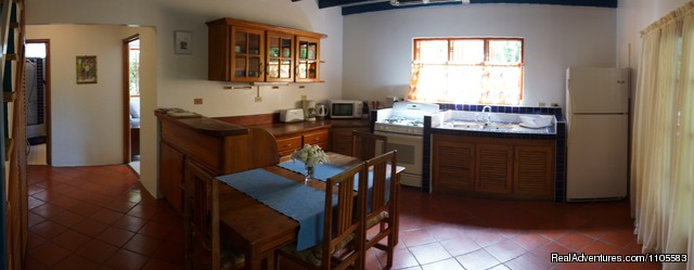 Kitchen,3 Bedroom House - Jemas Guesthouse and  apartments