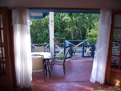 View From Kitchen,3 Bedroom House - Jemas Guesthouse and  apartments