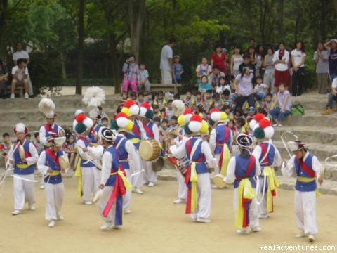 Farmers Dance - Perfect land only Tour in Korea