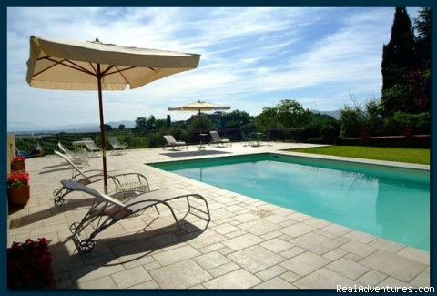 Pool - Umbria: movie star villa in a romantic place!