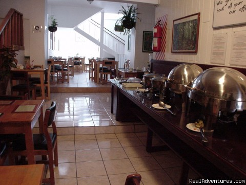 Breakfast Room - Hotel LA Amistad best deal in Downtown San Jose