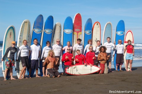 Great group fun - WB Surf Camp
