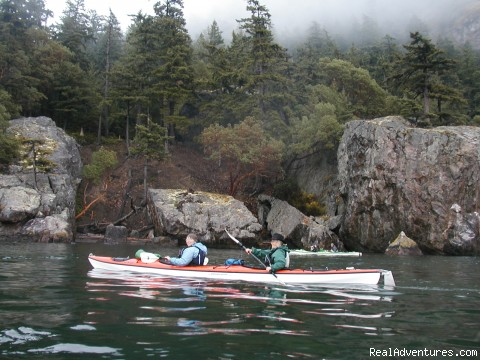Sea Kayaking Cypress Island, San Juans - Sea Kayak the Secret Side of the San Juan Islands