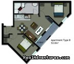 2 bedroom furnished apartment (#25 of 26) - Auckland Waldorf Serviced & Furnished Apartments