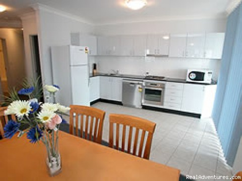 Full kitchen facilities - Blacktown Waldorf Serviced & Furnished Apartments
