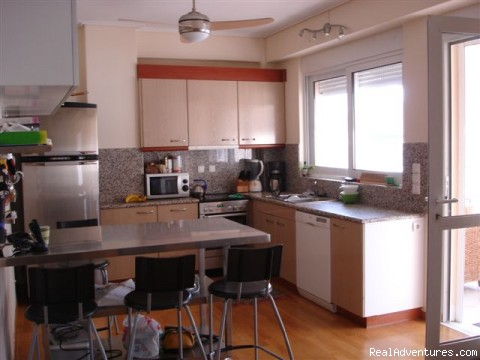 A kitchen every grandmom loves, stocked with everything - Downtown, Walk to sites, Luxury 3 bd 2ba, WiFi/W/D