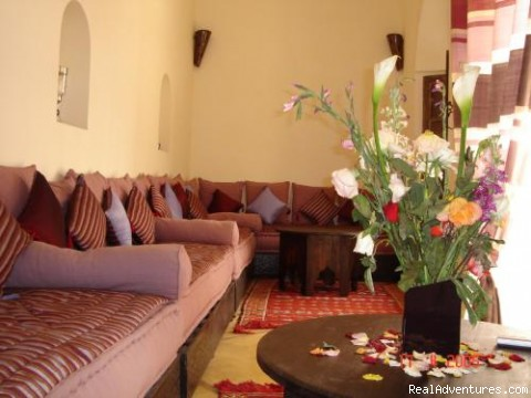 Image 2 6 Moroccan Living Room Salon Marocain Charming Guest House In Marrakech Morocco