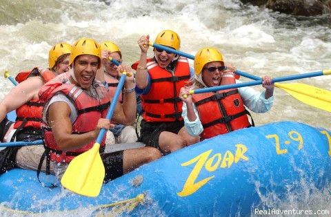 Group whitewater raft trips - Rafting and Zip Line Adventures in Massachusetts