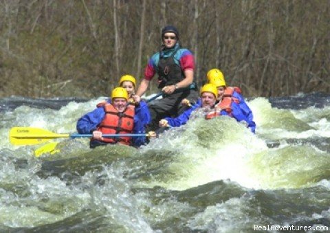 Springtime Raftng on the Millers and Concord Rivers