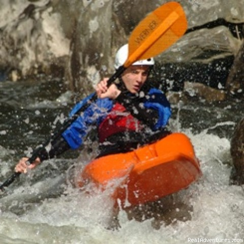 Whitewater Kayak Instruction  (#3 of 17) - Rafting and Zip Line Adventures in Massachusetts