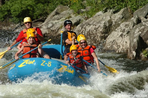 Rafting and Zip Line Adventures in Massachusetts