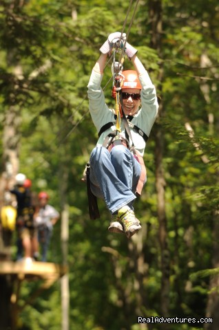 Zip Line Canopy Tours (#2 of 17) - Rafting and Zip Line Adventures in Massachusetts