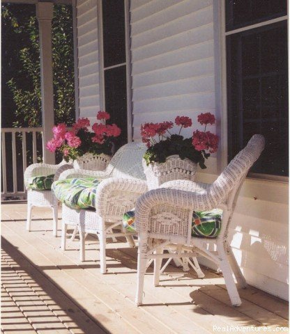Guest Porch | Image #2/10 | Niagara on the Lake Bed and Breakfast