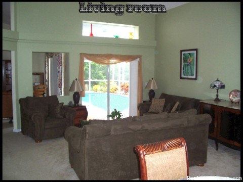 lounge - Florida Near Disney World a Lovely 3 Bd Pool Home