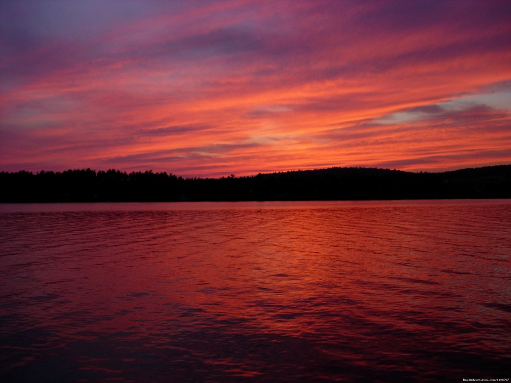 Sunset | Image #7/14 | Quiet Waterfront Thompson Lake, ME