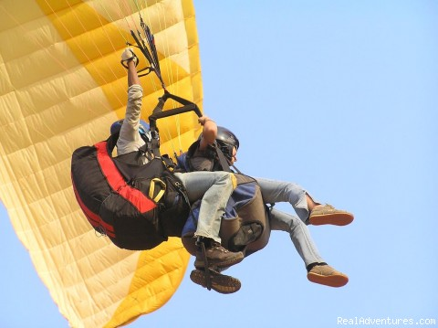 Tandem Flying - Paragliding Adventure Getaway in India