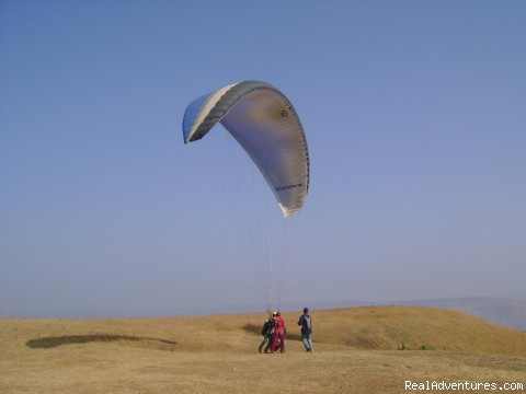 Ready to Take Off at Tower Hill (#4 of 4) - Paragliding Adventure Getaway in India
