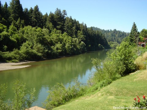 Vacation Rentals in the Russian River Valley Gorgeous River Views
