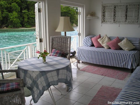 Living Room with 2 day beds (#3 of 8) - Romantic Honeymoon Hideaway