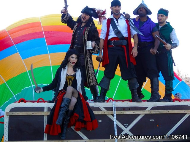Pirates - A Balloon Ride Adventure with Magical Adventures