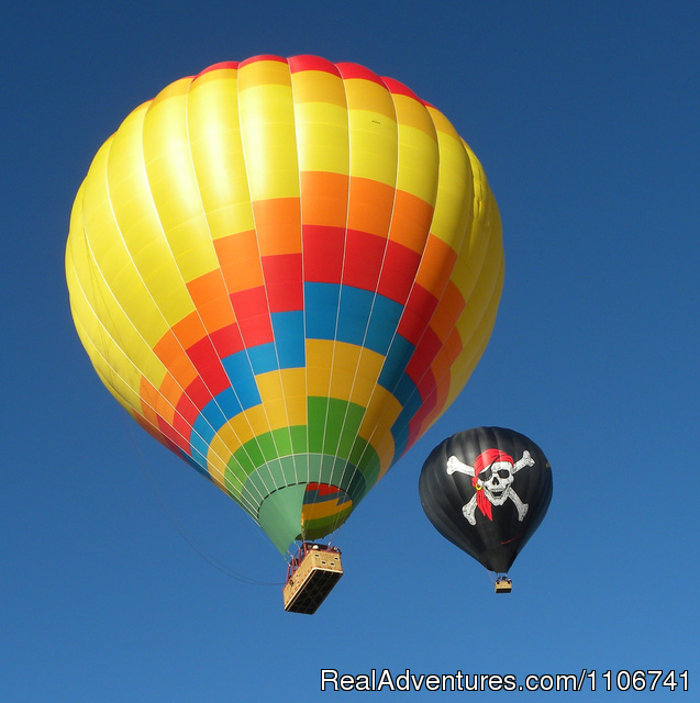 Our new balloons - A Balloon Ride Adventure with Magical Adventures