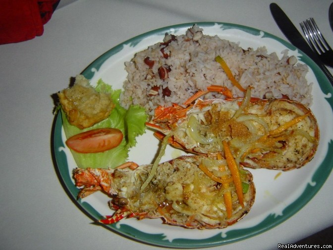 Lobster For Dinner | Image #20/24 | Nirvana On The Beach, Negril Jamaica