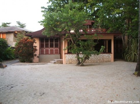 Villa outside - Nirvana On The Beach, Negril Jamaica
