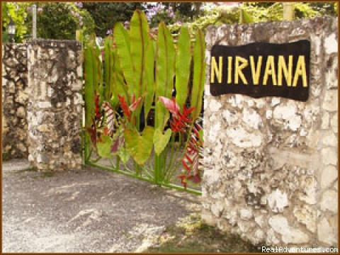 NIRVANA gate - Nirvana On The Beach, Negril Jamaica