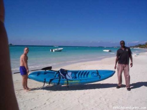 Free Kayaks For Guests - Nirvana On The Beach, Negril Jamaica