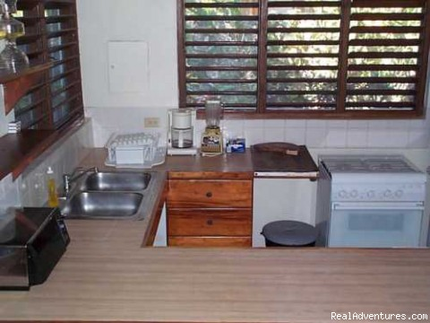 Immaculate Cottage Kitchen - Nirvana On The Beach, Negril Jamaica