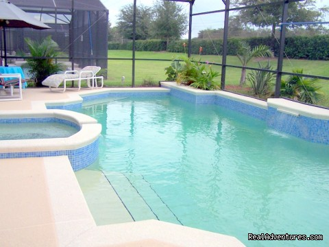 Your own private pool on all homes - Fun in the Sun with Sunsplash