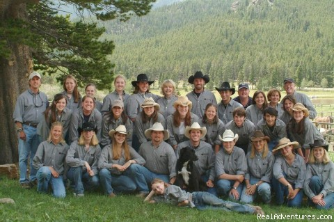 An Outstanding Staff - A Christian Family Dude and Guest Ranch