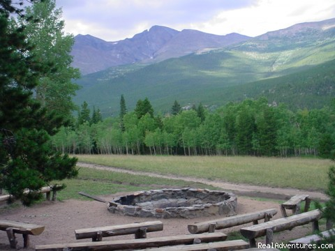 The evening campfire setting (#6 of 10) - A Christian Family Dude and Guest Ranch